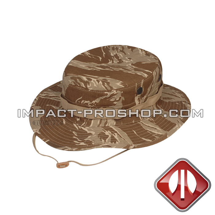 boonie hat original desert tiger stripe rip stop with loops 1f9cb9a9b2d