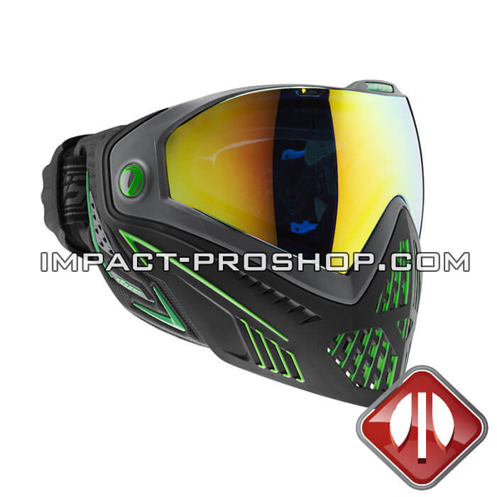 die i5 thermal emerald paintball mask