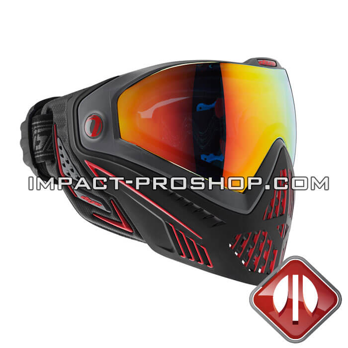 dye i5 thermal fire paintball mask