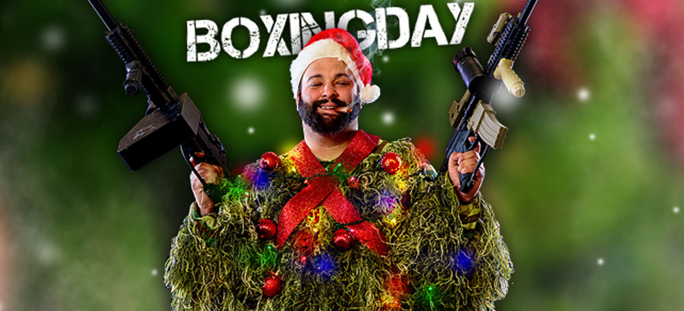 Paintball boxing day 2016