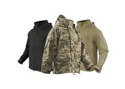 military coat softshell