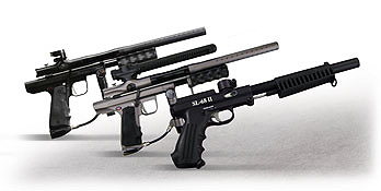 pump paintball guns