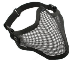 Paintball mask mesh grill