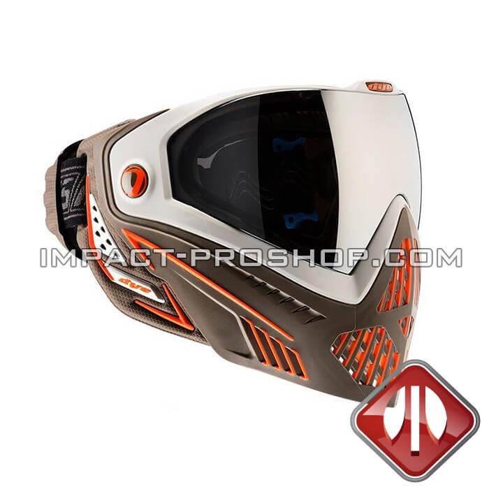 DYE i5 thermal BUCS paintball mask