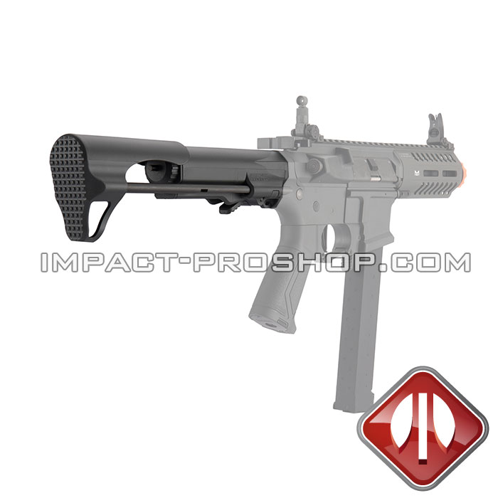G&G STOCK GOS V5 BLK AIRSOFT