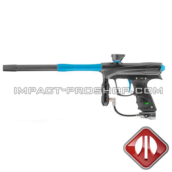 DYE RIZE MAXXED GRAY/CYAN paintball guns