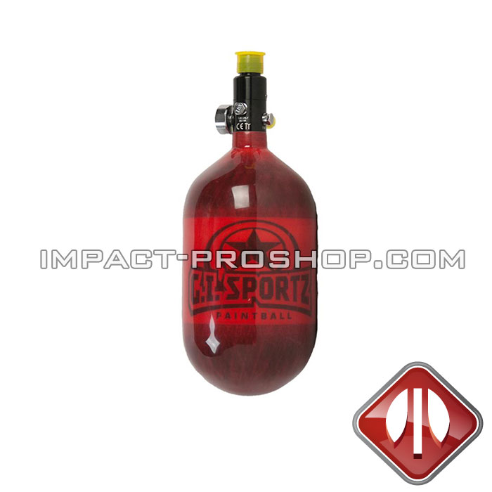 68/4500 GISPORTZ RED AIR TANK