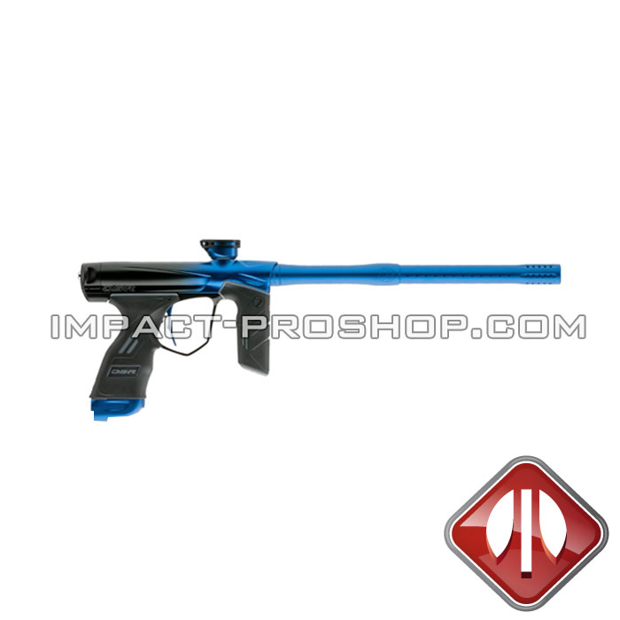 DYE DSR BLACK WATER BLUE FADE paintball guns